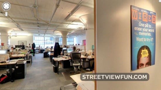 StreetViewFun | Street View visit the Wired Magazine office in San ...