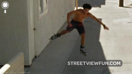 Rollerblading talent