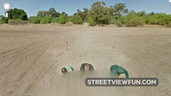 Stuck in Botswana