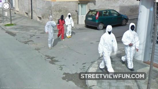 Weirdest guys on Google Maps Street View
