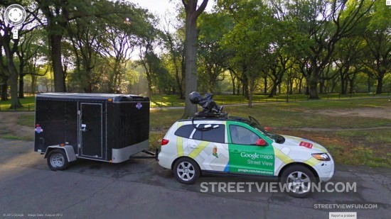 central-park-street-view-car