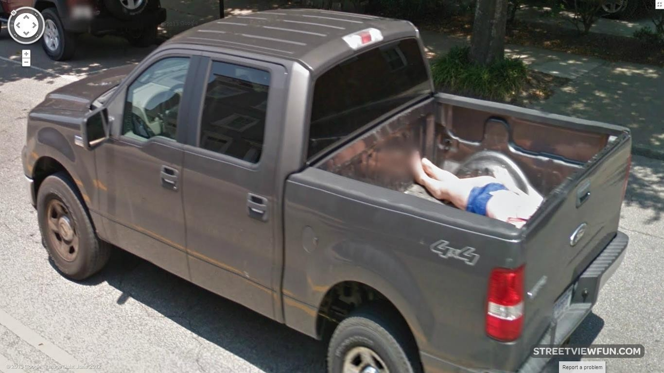 man-in-pickup-truck-google-street-view