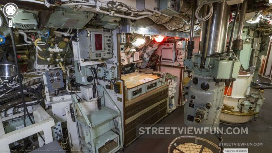 Streetviewfun Go Inside Submarine Hms Ocelot On Google
