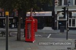 Giraffe in a phone box