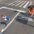 reporter-filming-google-street-view