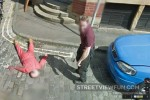 Staged murder scare on Street View
