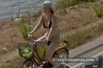 Sweet cyclist