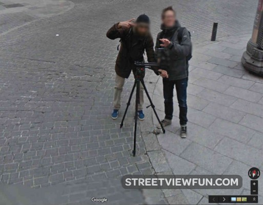 filming-street-view-madrid