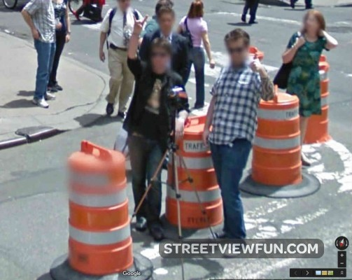 filming-google-street-view