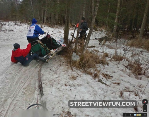 dog-sled-race-crash-google-street-view
