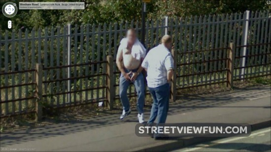 16 weirdest people on Google Maps Street View - StreetViewFun