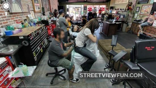 Inside Miami Ink\'s Love Hate tattoo shop - StreetViewFun