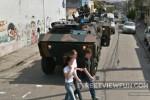 Armored vehicles in Rio de Janeiro