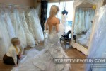 Nice view of bride
