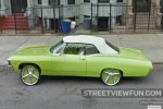 Awesome green car