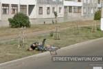 Bicyclist fail