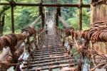 Kazurabashi Bridge - Iya Valley, Japan
