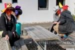 Masked students at the Rebild Produktionsskole  ...