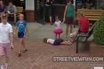 Girl fainting