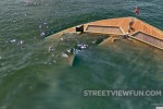 Street View boat sinking now