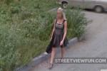 Russian beauty in heels