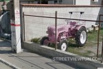Old Pink Tractor