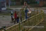 Acrobatic kid