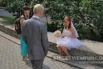 Many weddings in St. Petersburg