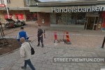 Bank robbery caught on Google Street View