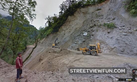 street-view-bhutan