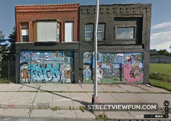 flintstones-mural