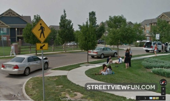 Google Street Car Accident