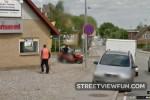 Thiefs stealing garden tractor caught on Google ...