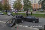 Big accident in Saint Petersburg