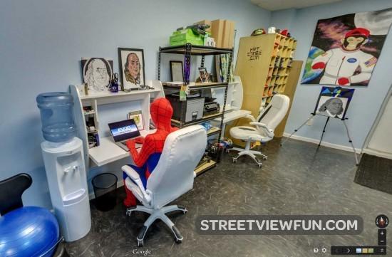 spider-man-working