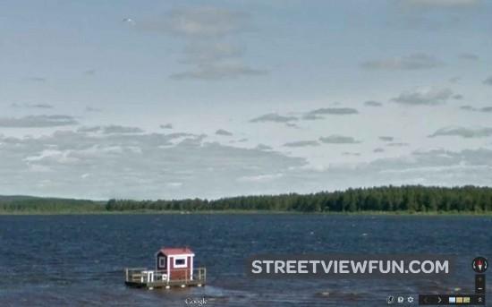 sauna-lake