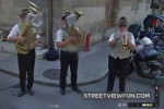Brass band in Genf