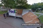 Tall truck and low bridge makes for one FedUp driver