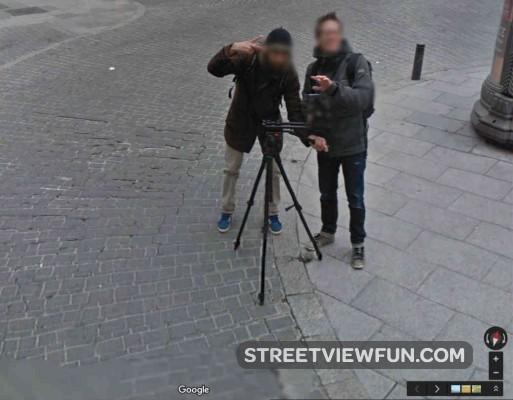 filming-street-view-madrid