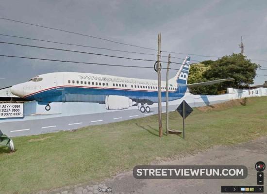 wall-airplane