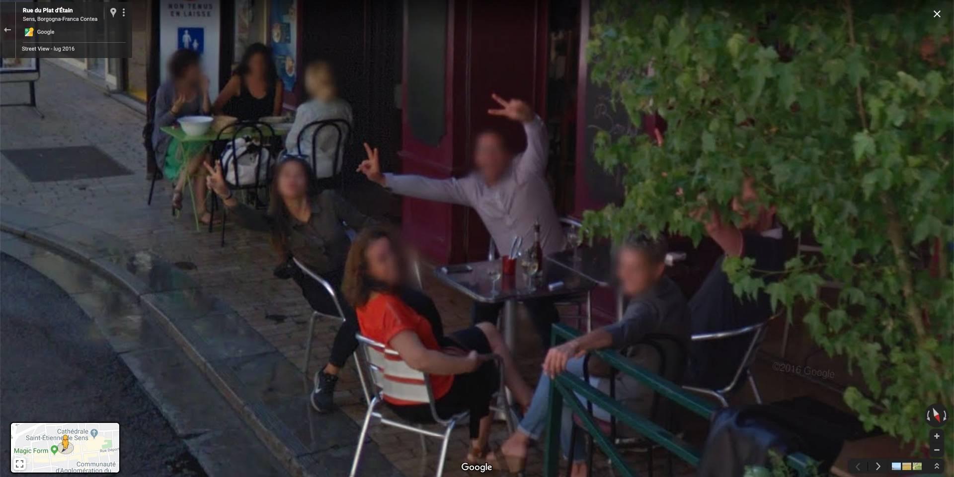 Street view images crazy google 15 Google