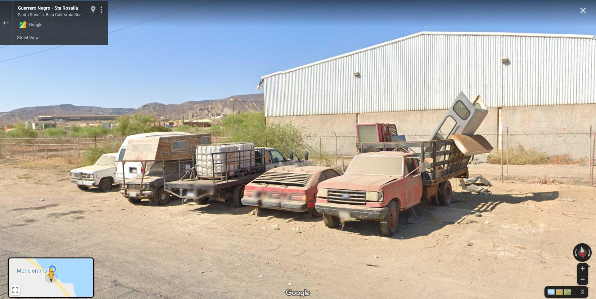 DeLorean in Mexico