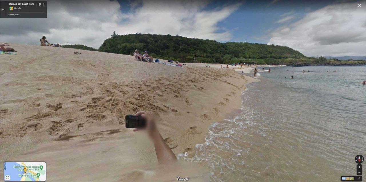selfie ocean